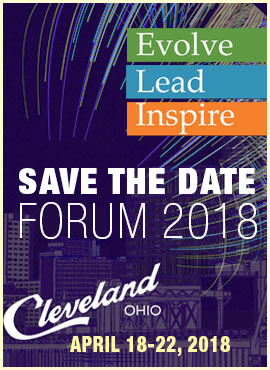 SAVE THE DATE FORUM 2018